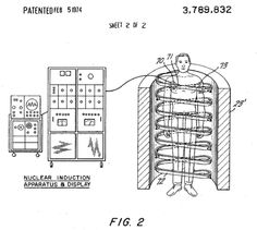 Raymond Damadian's patent on MRI.