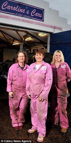 Women-Powered Auto Shops Take Mansplaining Out of Mechanics