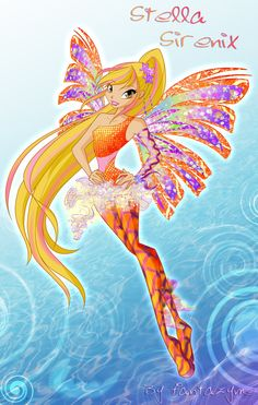 winx club best fairy friends | Winx club Stella Sirenix by fantazyme on deviantART