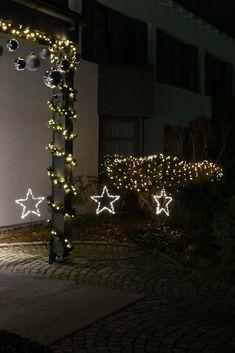 Weihnachtsbeleuchtung Aussen Motive.Die 175 Besten Bilder Von Weihnachten Beleuchtung Und Deko Für