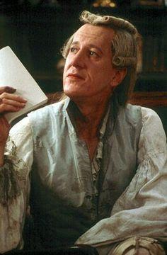 """BEST ACTOR NOMINEE: Geoffrey Rush for """"Quills""""."""