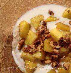 Lemon & Passion Fruit Cashew Chia Flax Pudding (sweetener free)