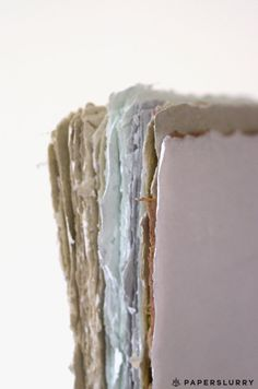 deckle edge, handmade paper, hand papermaking