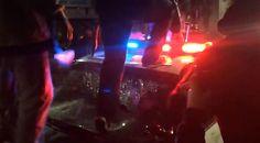 Mayhem in Oakland: Police car smashed, chopper shot at after violent sideshow  http://pronewsonline.com  © News Liveleak