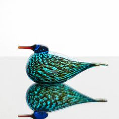 Nordic Design, E Design, Scandinavian Design, Art Of Glass, Glass Birds, Bird Art, Murano Glass, Love Art, Sculptures