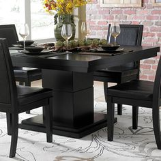 Off White Dining Room Set -   Kitchen & Dining Tables | Wayfair  Tile-top dining table white/natural  walmart. The tile-top dining table is a wonderful casual dining addition to any home or apartment. constructed from solid wood this white and natural colored tile dining. Modern outdoor furniture  colorful outdoor tables  Create a stylish outdoor space. with colorful outdoor chairs and tables understated seating and consoles our modern outdoor furniture makes alfresco entertaining…