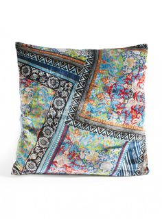 Alvarie Pillow The JOHNNY WAS Alvarie Pillow accents any room, providing comfort and a touch of style.    -Approx. 22