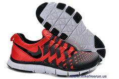 49cfbfa40034 Nike Free Trainer 5.0 Pimento Black White Mens Training Shoes Sale Cheap  Sneakers