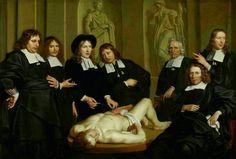 El Museo de Alberto: Lección de Anatomía del Dr. Ruysch (1670)
