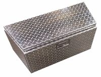 Trailer Nose Cabinet – Diamond Plate from pitproducts.com