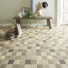キッチン トイレ や 洗面所 床のリフォームにおすすめ。[住宅用クッションフロア ストーン アルベロタイル (1m単位で販売) SHM-4088]※ ご注文時は1mを「1」として数量欄に入力してください。 アルベロタイル Tile Floor, Cushions, Flooring, Contemporary, Stone, Interior, Home Decor, Google, Products