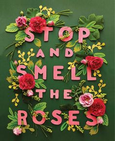 I'm constantly inspired by the amazingly talented Anna Bond of Rifle Paper Co. Recently Anna has brought her beautiful floral illustrations to life with real fresh blooms and paper cutouts for her . Do It Yourself Quotes, Make It Yourself, Rifle Paper Co, Grafik Design, Floral Style, Floral Design, Floral Theme, Hand Lettering, Paper Art