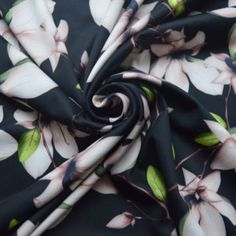 John Louden - Hat Day Hat Day, Black Orchid, Shirt Skirt, Top Designer Brands, Green And Brown, Fabric Design, Orchids, Branding Design, Floral Prints