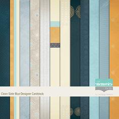 Clean Slate Blue Designer