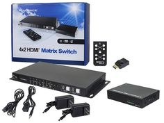 HDBaseT™ 4x2 HDMI® Matrix #Switch and #Receiver Alliance Logo, Cat6 Cable, Local Area Network, Printer Toner, 3d Video, Video Source, Hdmi Cables, Audio, Usb
