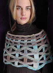 Ravelry: Lattice Cowl pattern by Cornelia Tuttle Hamilton Hamilton, Classic Poems, Roving Yarn, Wrap Pattern, Garter Stitch, Different Shapes, Knitted Shawls, Knitting Designs, Crochet Top