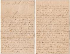 Dear Wife 1888 Letter