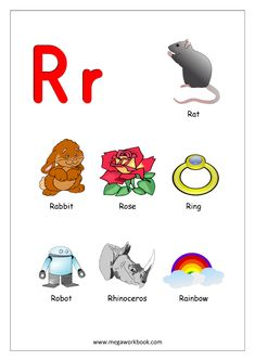 Free Printable English Worksheets - Alphabet Reading (Letter Recognition And Objects Starting With Each Letter) - MegaWorkbook Printable English Worksheets, Alphabet Worksheets, Alphabet Activities, Preschool Learning, Kindergarten Worksheets, Free Printable, Printable Alphabet, Learning Letters, Learning English For Kids