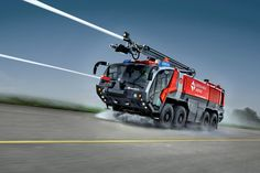 Awesome fire fighting appliance will go any where that you throw at it