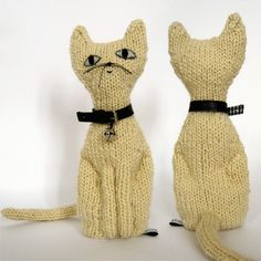 Hand-knit animal toys from Argentina.