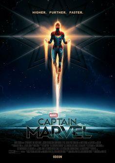 Captain Marvel new Poster Carol Danvers Brie Larson Poster Marvel, Marvel Comics, Films Marvel, Marvel Movie Posters, Marvel Avengers, Marvel Hela, Marvel Room, Avengers Movies, Captain Marvel