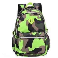 $30.93 (Buy here: https://alitems.com/g/1e8d114494ebda23ff8b16525dc3e8/?i=5&ulp=https%3A%2F%2Fwww.aliexpress.com%2Fitem%2FTop-Quality-Nylon-Camouflage-Children-School-Bags-Waterproof-Backpack-Mochila-For-Teenagers-Kids-Boys-Girls-Travel%2F32700778304.html ) Top Quality Nylon Camouflage Children School Bags Waterproof  Backpack Mochila For Teenagers Kids Boys Girls Travel Bag XJ437 for just $30.93