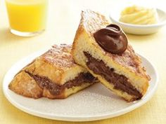 Chocolate-Stuffed French Toast