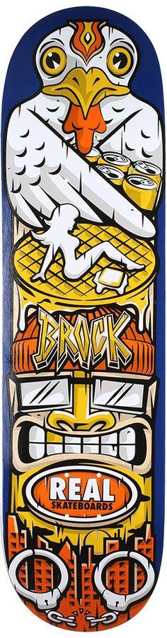 Street Skate Kings: Real Skateboards Spirit Animal Brock Skateboard Deck – Out Now!