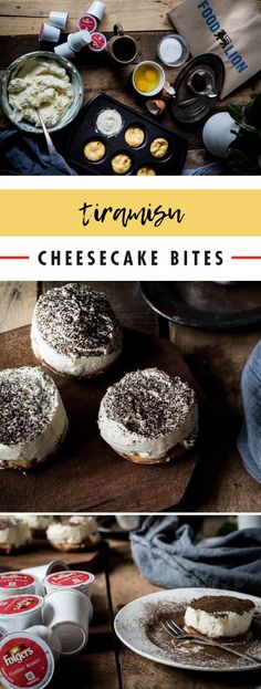 Treat your taste buds to a truly tasty dessert by making this recipe for Tiramisu Cheesecake Bites. Using Folgers® Classic Roast K-Cup® Pods, this classic combination of coffee, chocolate, and cream flavors couldn't be easier to make! Get your coffee kick and eat it too when you pick up everything you'll need to try out this sweet treat at your local Food Lion.