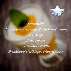 Krem z mango i marakują - składniki