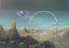 Ian S Bott - Artwork - Stargate