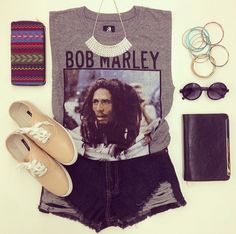 What is your favorite Bob Marley song? #GraphicTee #OOTD