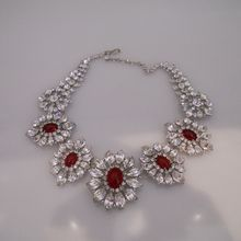 Vintage Amazing Early Christian Dior Stunning Rhinestone Necklace Western Germany