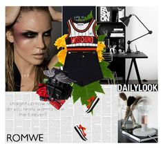 """Romwe"" by amimcqueen ❤ liked on Polyvore featuring Moschino, Teva, Dolce&Gabbana and Dooney & Bourke"