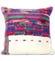 Viva la Coloras! Large Huipile Pillow