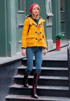 Taylor Swift Lleva El Street Style Al Siguiente Nivel