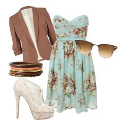 """""""rustic floral formal"""" by allieduncan on Polyvore"""