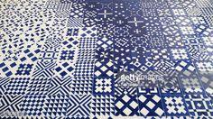 Foto stock : Portuguese blue tiles