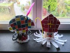 Nursery Crafts, Advent, Classroom Crafts, Saint Nicholas, School Themes, Work Inspiration, Art For Kids, Decoration, Saints