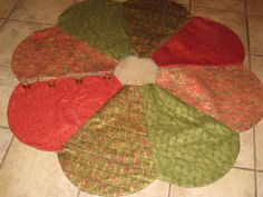 Another project from Christmas 2011...my tree skirts...