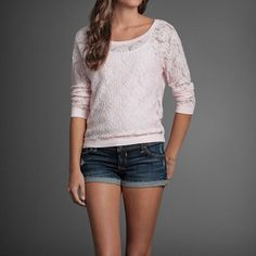 mid-sleeved abercrombie sweater. very pretty. $48 from www.abercrombie.com