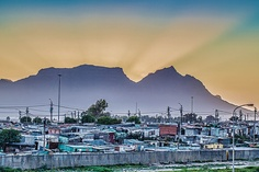 Township Sunset, Cape Town