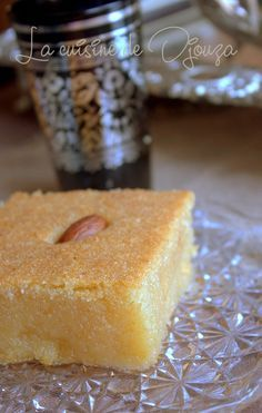 Kalb el louz au yaourt ou lben Ramadan, Arabic Sweets, Macarons, Doughnut, Nutella, Mousse, Biscuits, Gluten, Pudding