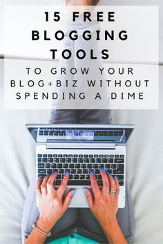 Just because you have a blog doesn't mean you need to spend a ton of money to make it successful. Here are 15 FREE resources that every blogger should be using that won't break the bank. From scheduling tools, to webinar platforms, to graphic design resources, we've got you covered!