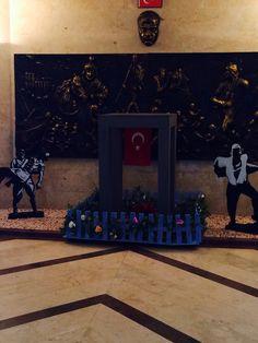 18 Mart Çanakkale şehitler anıtı maketi