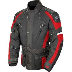 Special Offers - Joe Rocket Ballistic Revolution Mens Textile Sports Bike Motorcycle Jacket  Black/Red / X-Large - In stock & Free Shipping. You can save more money! Check It (August 31 2016 at 11:06AM) >> http://motorcyclejacketusa.net/joe-rocket-ballistic-revolution-mens-textile-sports-bike-motorcycle-jacket-blackred-x-large/