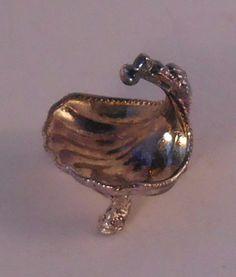 Stephen J Randall, Royal Tunbridge Wells - sterling silver shell bowl