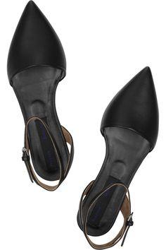 Minimal + Classic: Proenza Schouler | Leather point-toe flats