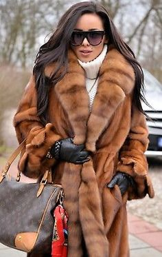 NEW RUSSIAN SABLE MINK FUR LONG COAT CLASS OF JACKET TRENCH FOX LYNX CHINCHILLA