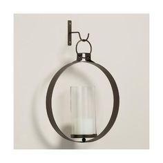 Cost Plus World Market Bronze Metal Ethan Round Pendant Sconce ($35) ❤ liked on Polyvore featuring home, lighting, wall lights, round lamp, cost plus world market, circular lamp and round lights